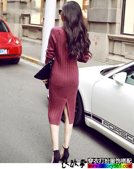 裙子 长袖连衣裙