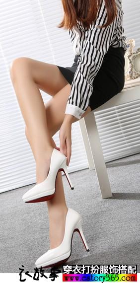 穿对鞋变长腿 鞋不对短一截