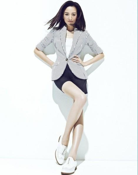 周迅、李小璐、董洁示范矮小个子女生怎么穿衣搭配