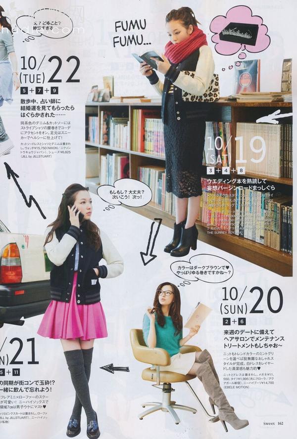 高个子女生冬季穿衣搭配-实例7-10
