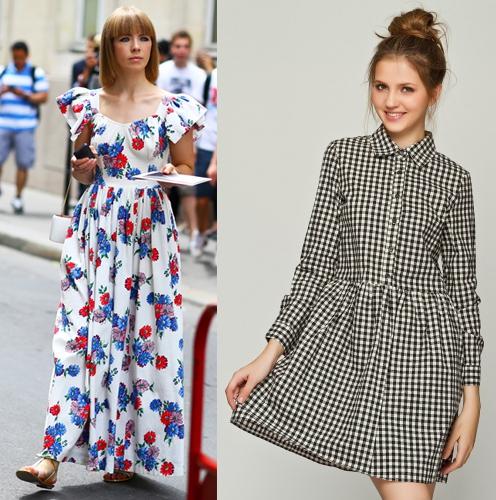 高个子女生怎么穿衣搭配好看:连衣裙