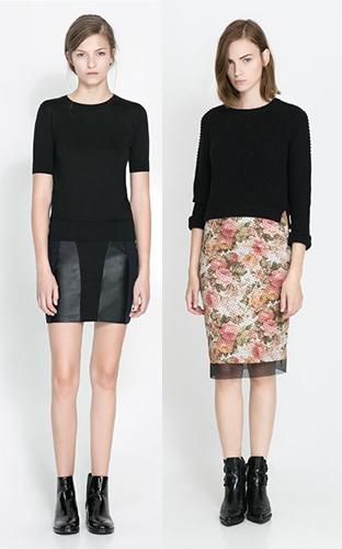高个子女生如何服装搭配才好看:包臀半裙
