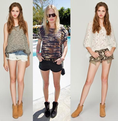 高个子女生怎么穿衣搭配好看:短裤