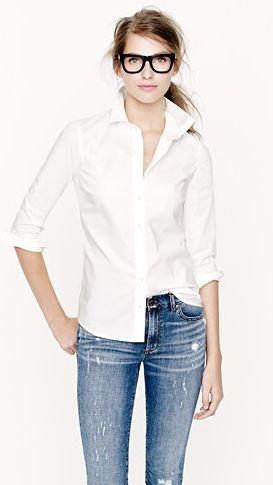 女生低调优雅的穿衣搭配实战_上装单品衬衫篇