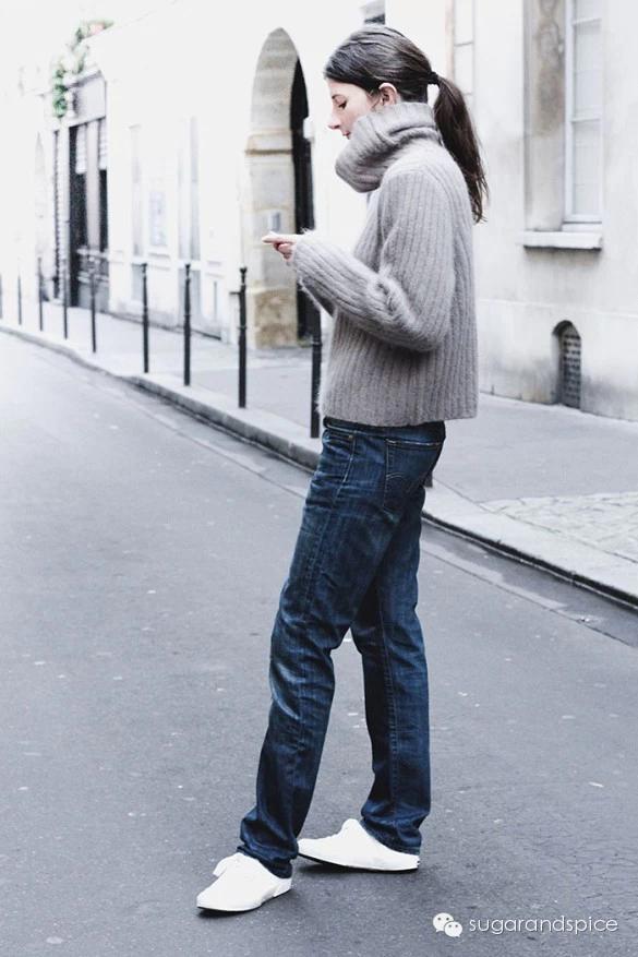 女生低调优雅的穿衣搭配实战_上装单品毛衣篇
