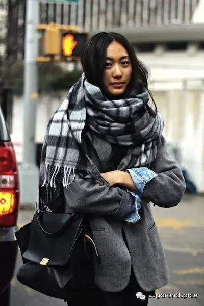 女生低调优雅的穿衣搭配实战_配饰围巾篇