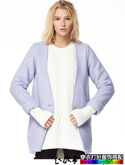 中长款羊毛呢子大衣