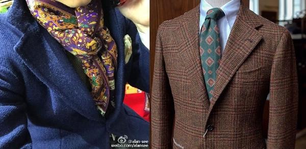 服饰怎么样搭配色彩:二、对比配色