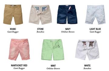 男生需要哪些基本款的裤子?(三)——夏季好帮手