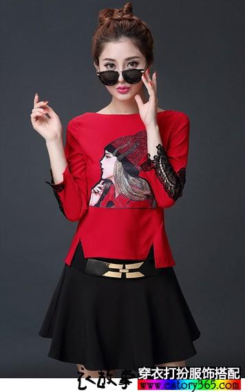 魅力加分的七分袖衣服搭配