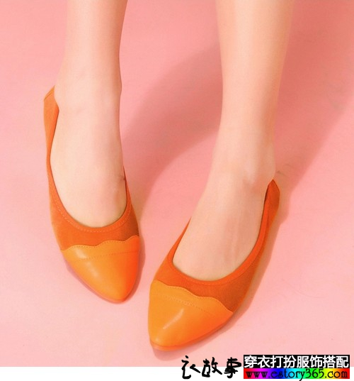 平底浅口单鞋