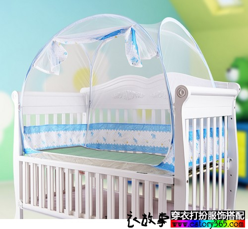 婴儿免安装蚊帐