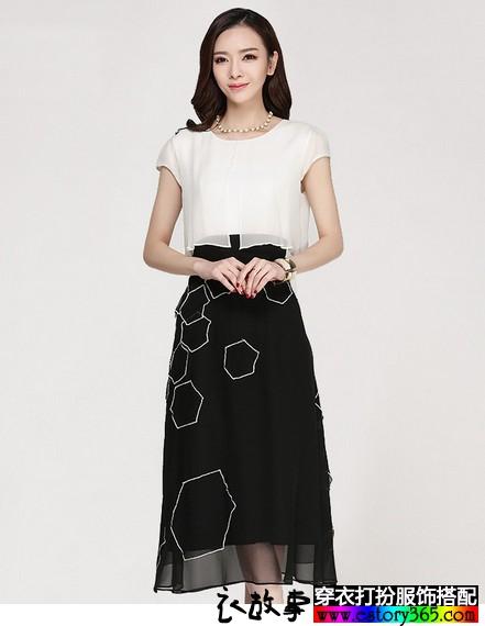 简单,黑白分明的时尚