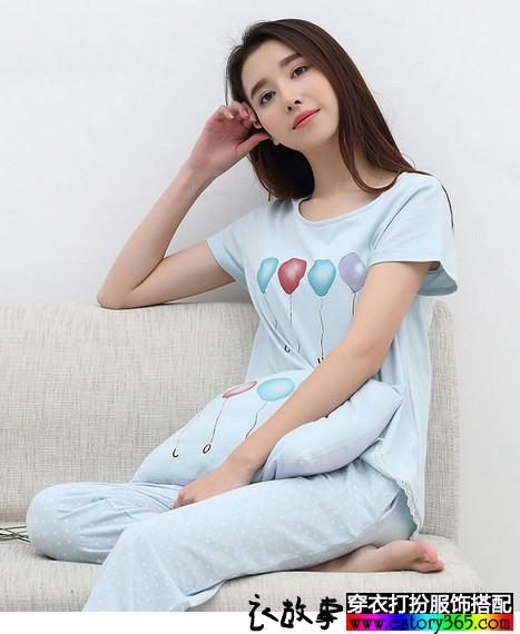 纯棉卡通睡衣