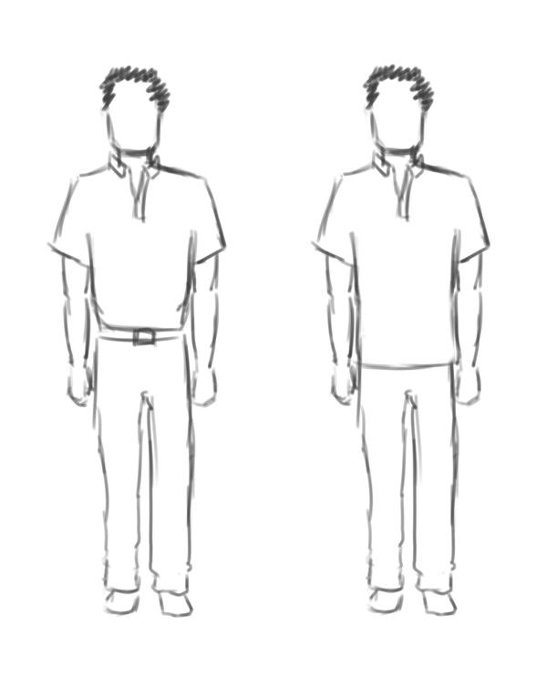 显得腿长的穿衣搭配技巧方法|男士篇(一)