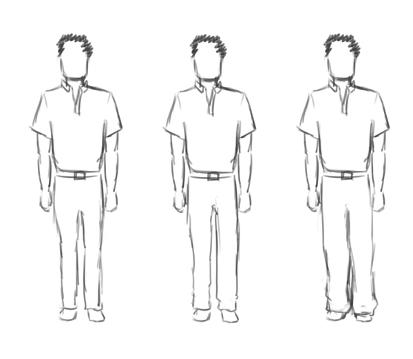显得腿长的穿衣搭配技巧方法|男士篇