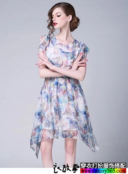 让衣橱成为花丛,夏款印花衣服搭配