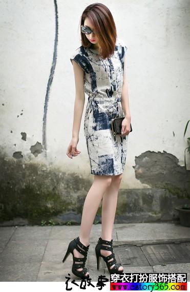 民族风复古棉麻长裙
