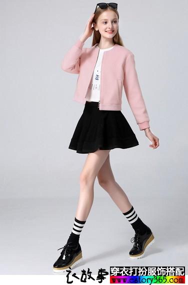 羊毛呢休闲短夹克