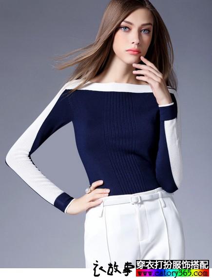 活泼的色彩,活泼的针织,秋冬针织衫搭配