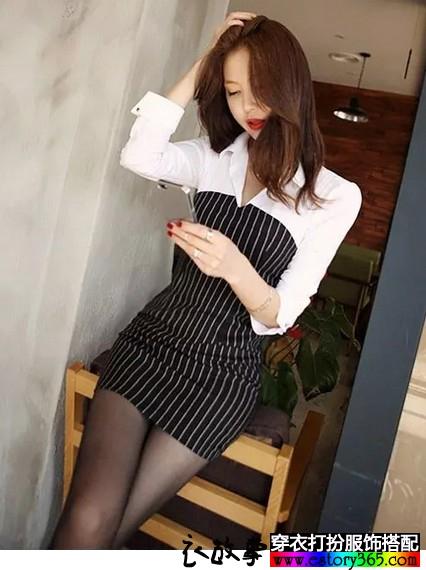 长袖衬衫连衣裙