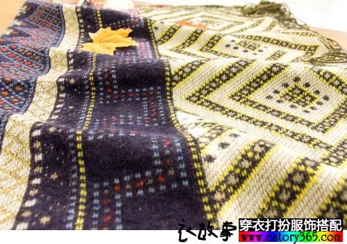 波西米亚披肩围巾