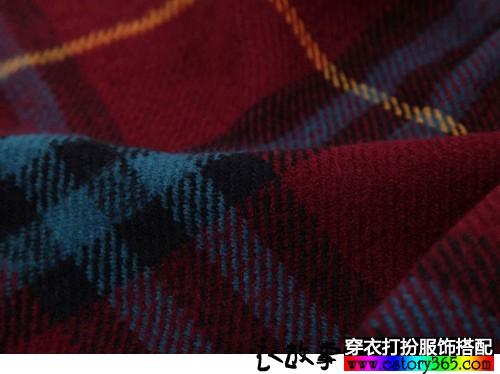 流苏口袋毛线围巾