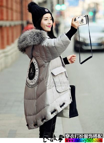 美丽的大摆羽绒服,在时尚界自成一派