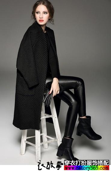 一贯简约质感的欧美风格衣服搭配