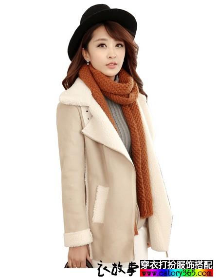 柔软麂皮绒奢华大衣