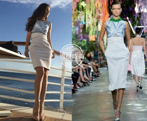 明星潮搭:Angelababy演绎粉色少女风,手拎2.7万Lady Dior