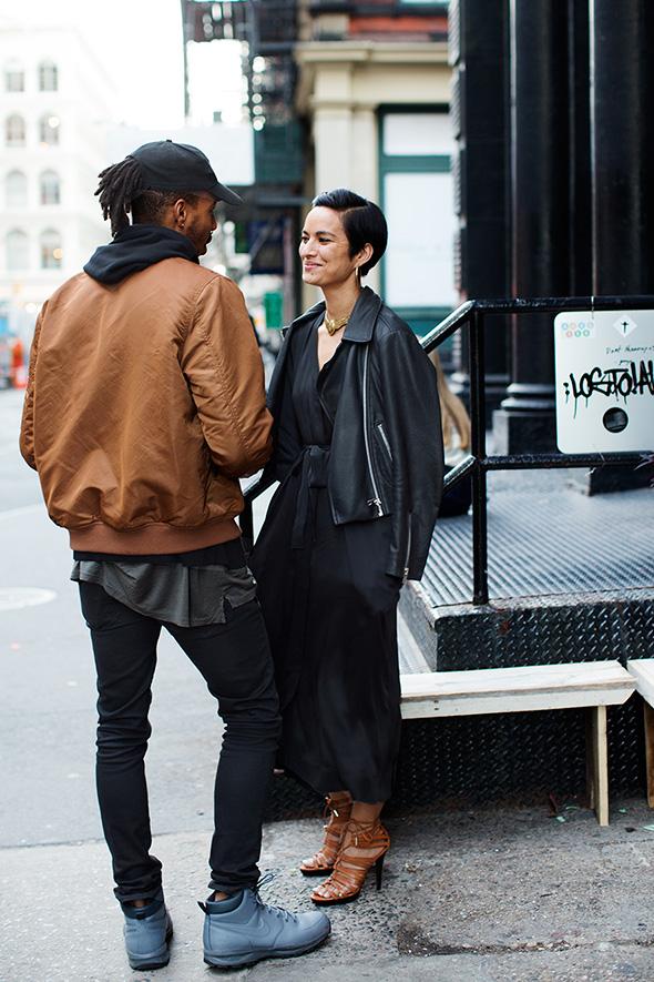 街拍:2015 纽约 米兰  欧美风格街拍照片欣赏