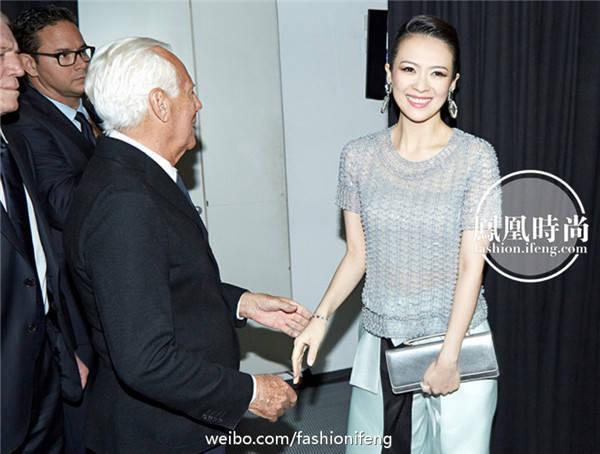 明星潮搭:章子怡产女 看她搭配过哪些价位的服饰(一)