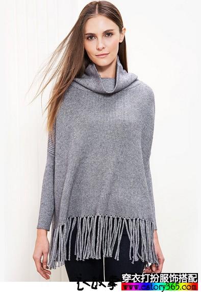 漂亮毛衣适合搭配各种外套