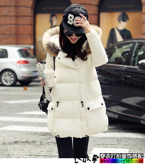 毛领大衣来过冬,气场萌系全都有