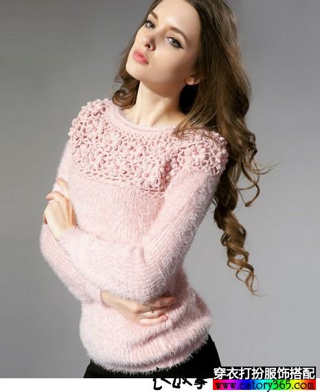 毛衫让冬天更暖和