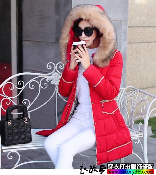 喜庆的日子里,适合穿喜庆的红色
