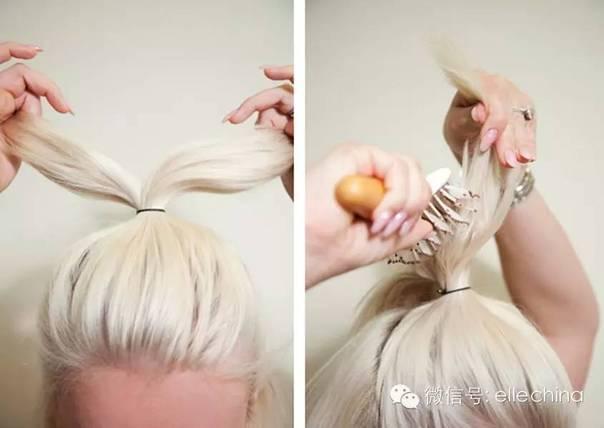 学白百何扎头发,当一辈子少女!