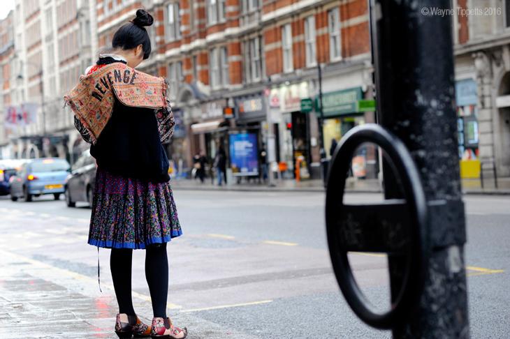 街拍:2016年1月伦敦街拍欣赏