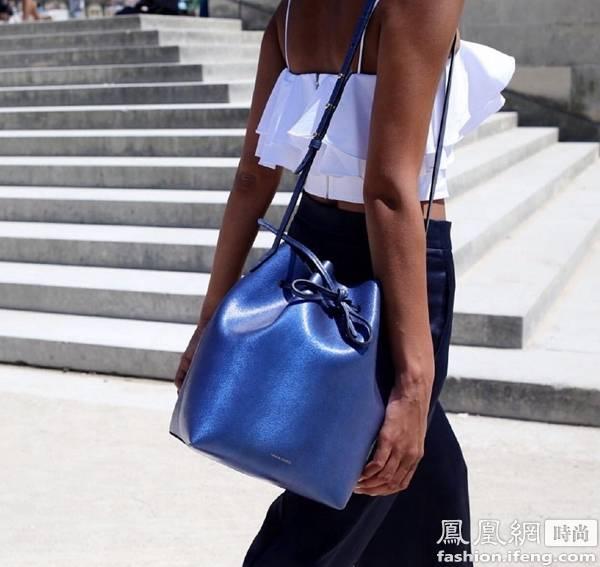 2016年流行什么包?流行水桶包 水桶包搭配