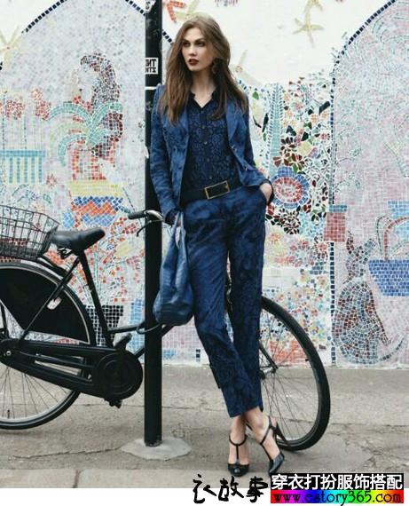 超模Karlie Kloss的搭配风格