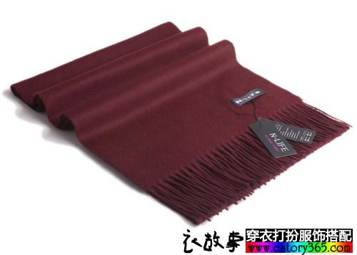 长方形流苏羊绒围巾