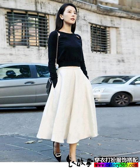 小香风长裙两件套套装