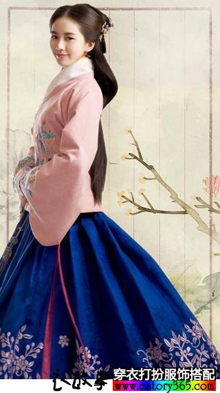 看刘诗诗古装造型,刺绣让自己在春天里焕新辉