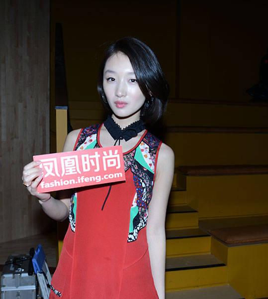 华人明星惊艳纽约时装周