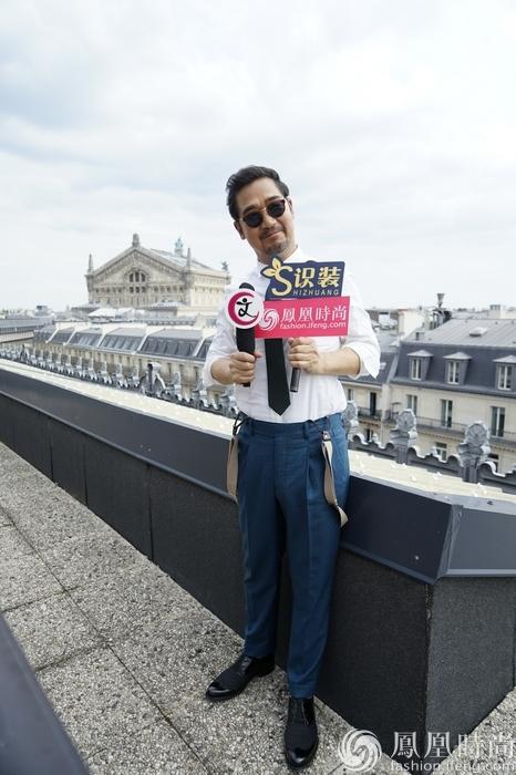 巴黎独家专访张国立 追到邓老师原来是有撩妹高招