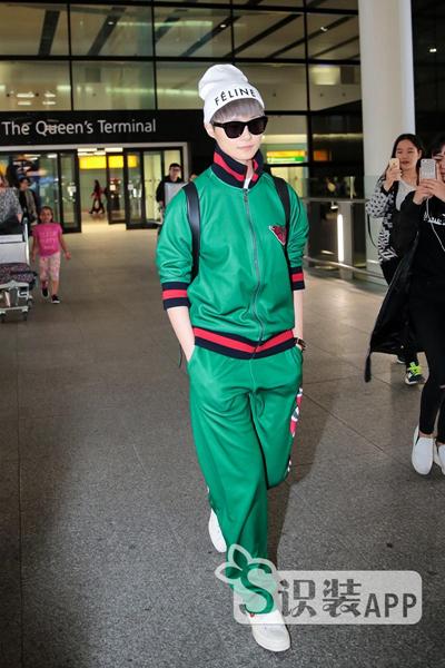 李宇春将首亮Gucci大秀 单凭机场Look就已帅出新高度