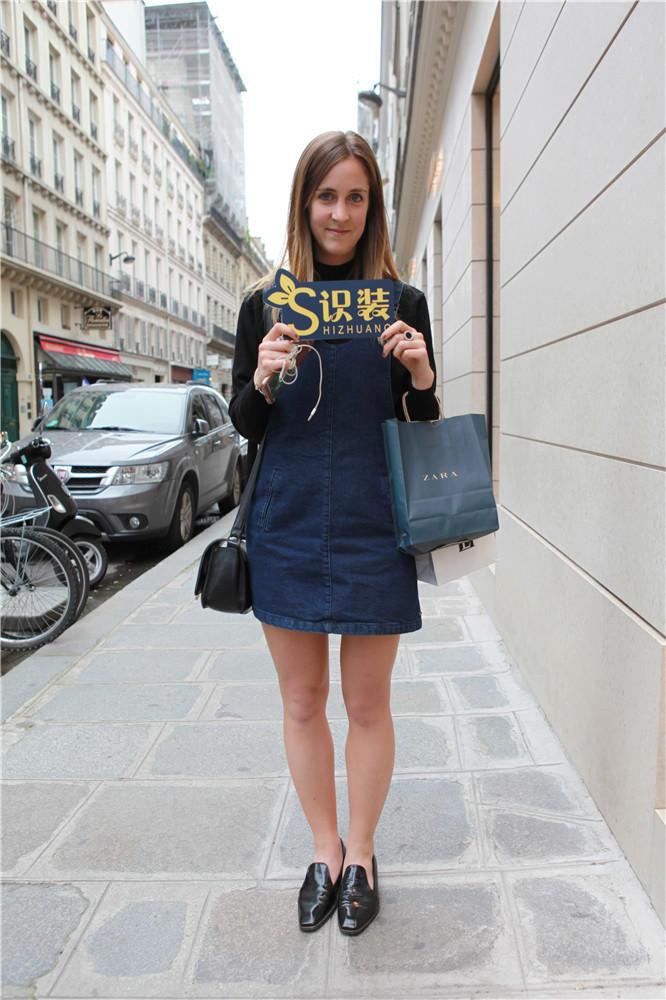 巴黎女生一双259元的鞋子也能搭得这么时髦