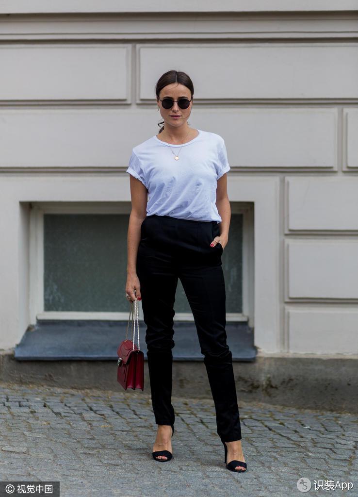 万年不变的黑白配 到底怎么穿才能拉开与路人的距离