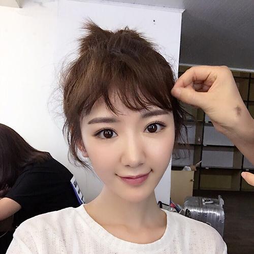 超短发超可爱 跟二喜毛晓彤学卖萌!